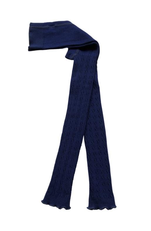 Leggins Marinblå i ekologisk Cashmere-ull/Modal