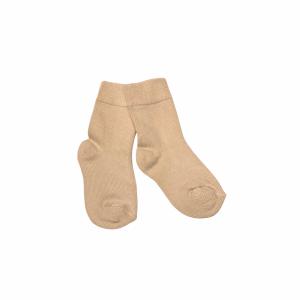 Socka Vitbeige i ekologisk Cashmere-ull/Modal