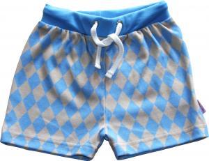 Harlekin Blå Shorts OEKO-TEX-bomull.