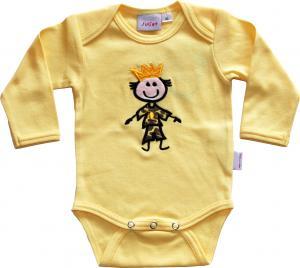 Prins Body Gul med Prinskläder i Leopard Kexchoklad OEKO-TEX-bomull