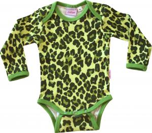 Leopard Grön Body i OEKO-TEX