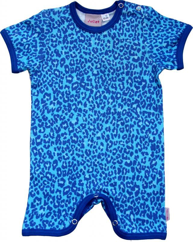 Leopard Turkos Brottar-body i OEKO-TEX