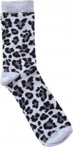 Leopard Svart Dam-socka