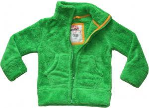 Fleece-jacka Grön