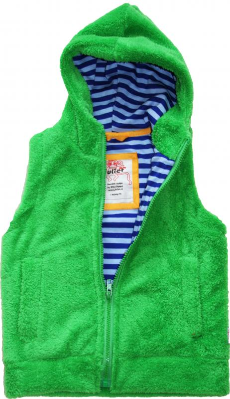 Fleece-Väst Grön