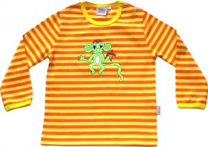 Randig Ap-tröja Gul/orange ränder OEKO-TEX