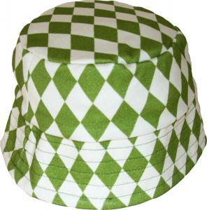Harlekin Grön Solhatt OEKO-TEX-bomull