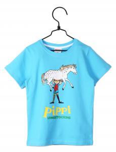Pippi Tröja Blå i GOTS bomull