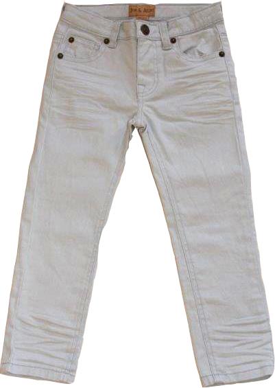 Jeans Grey Twill Kid