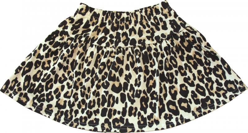 Leopard Original Kjol i OEKO-TEX