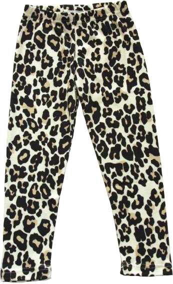 Leopard Original Leggings Slimfit i OEKO-TEX