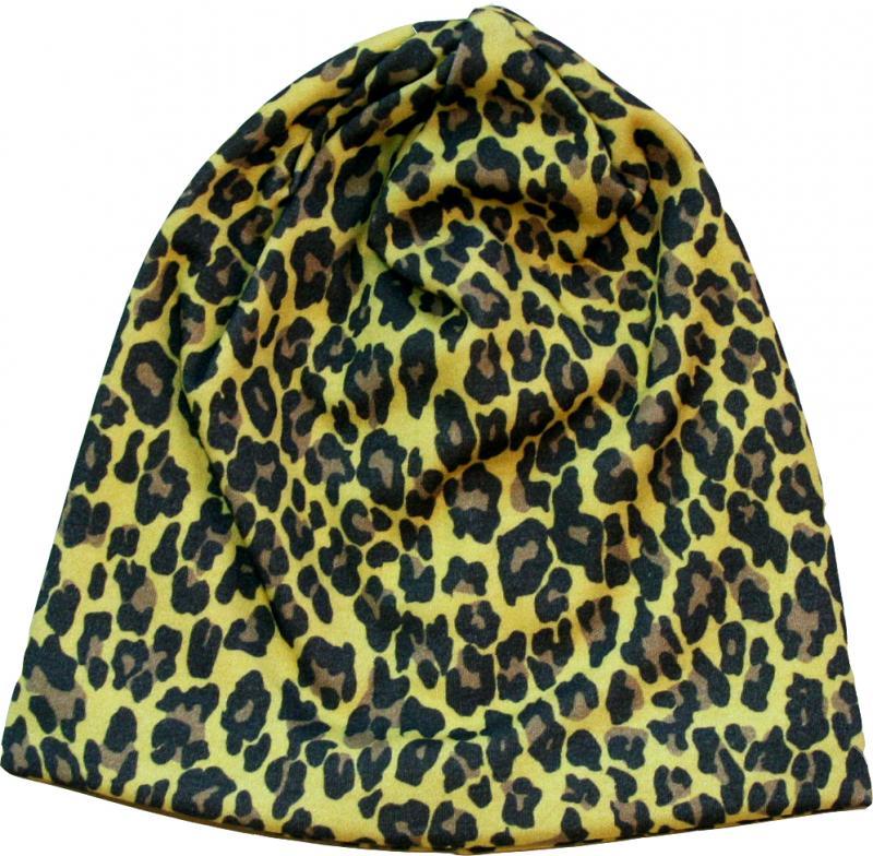 Leopard Kexchoklad Mössa i OEKO-TEX