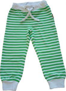 Klänning Grönvita prickar i OEKO TEX
