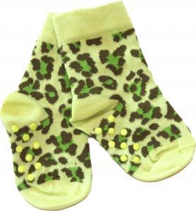 Leopard Grön Socka