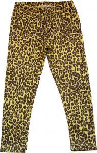 Leopard Kexchoklad Leggings Slimfit i OEKO-TEX