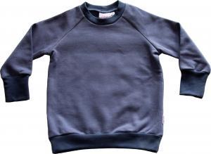 College-tröja Blyertsgrå OEKO-TEX-bomull.