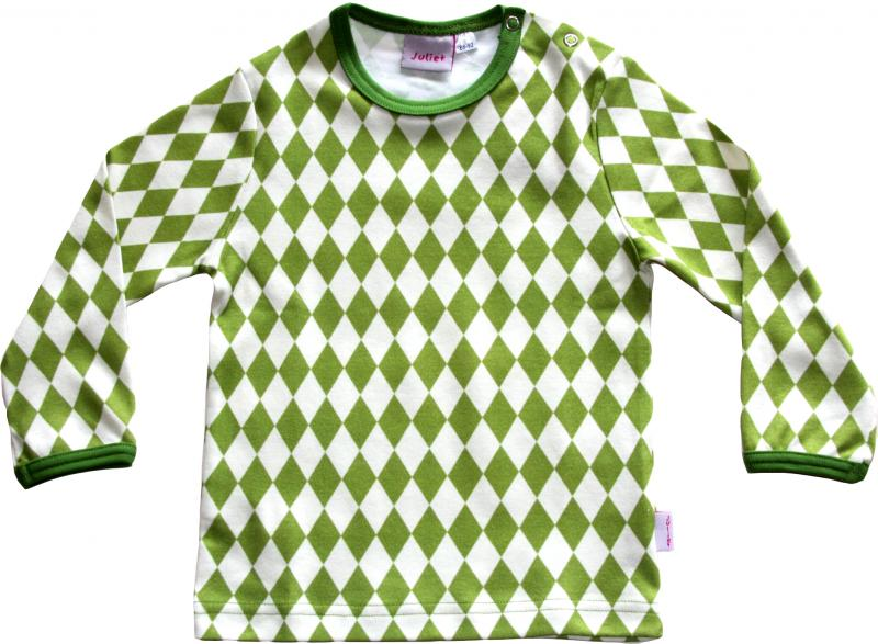 Harlekin Grön Tröja OEKO-TEX-bomull.