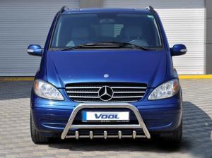 MINDRE frontbåge med trågskydd - Mercedes Vito / Viano 2004-2010