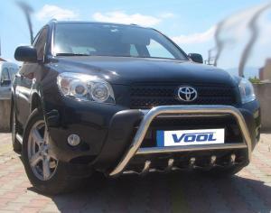 MINDRE frontbåge med trågskydd - Toyota RAV4 2006-2009