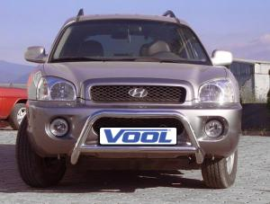 MINDRE frontbåge - Hyundai Santa Fe 2002-2006