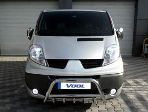 MINDRE frontbåge med trågskydd - Opel Vivaro 2007-2014