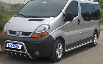 MINDRE frontbåge med trågskydd - Renault Trafic 2002-2006