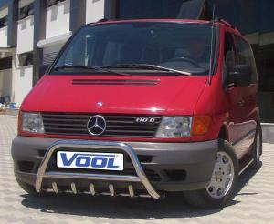 MINDRE frontbåge med trågskydd - Mercedes Vito 1996-2003