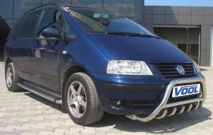 MINDRE frontbåge med trågskydd - VW Sharan 1997-2009