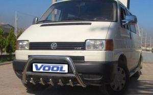 MINDRE frontbåge med trågskydd - VW T4 1992-2002