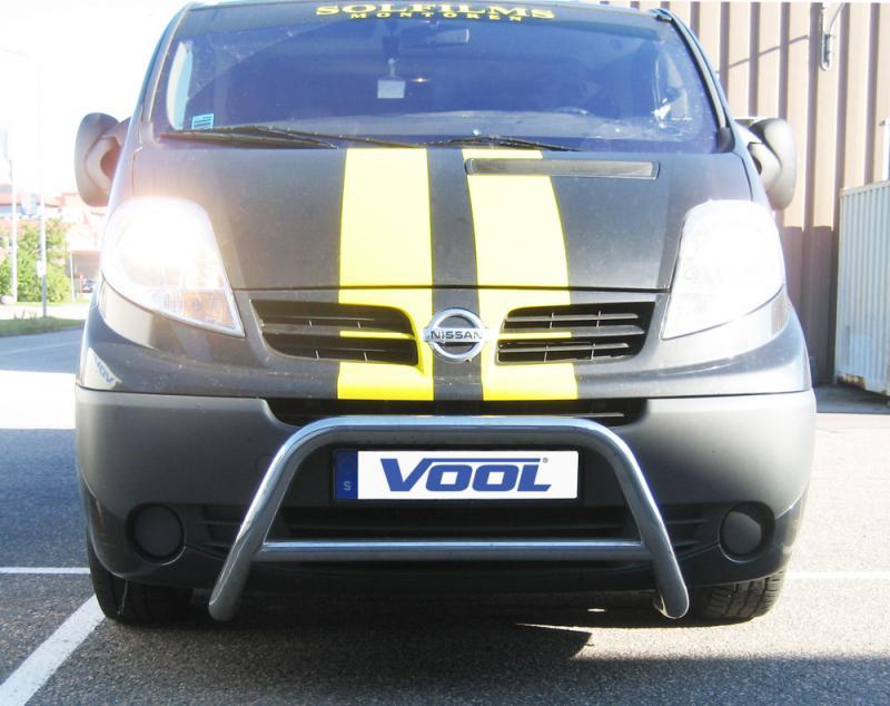 MINDRE frontbåge - Renault Trafic 2002-2006