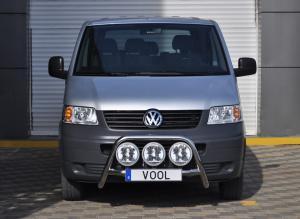 MINDRE frontbåge - VW T5 2003-2009