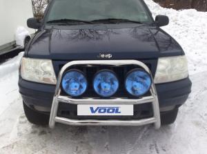 STOR TRIO frontbåge - Jeep Grand Cherokee 1999-2005