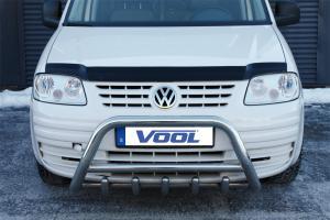 MINDRE frontbåge med trågskydd - VW Caddy 2004-2010