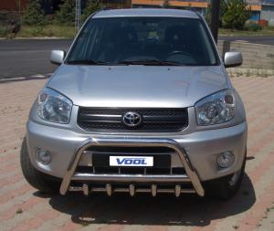 MINDRE frontbåge med trågskydd - Toyota RAV4 2001-2005