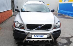 MINDRE frontbåge med trågskydd - Volvo XC90 2003-2008