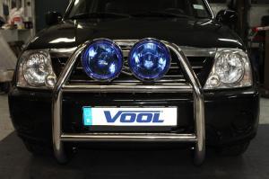 STOR DUBBEL frontbåge - Suzuki Grand Vitara XL7 2002-2007