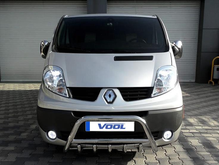 MINDRE frontbåge med trågskydd - Renault Trafic 2007-2014