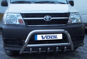 MINDRE frontbåge med trågskydd - Toyota Hiace 2007-2010