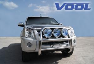 STOR 76MM frontbåge - Isuzu D-MAX 2007-2011