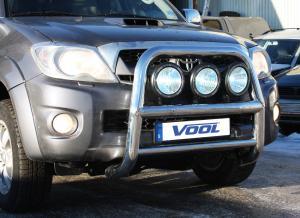 STOR 76MM frontbåge - Toyota Hilux 2010-2011