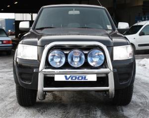 STOR 76MM frontbåge - Ford Ranger 1999-2009