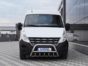 MINDRE frontbåge med trågskydd - Opel Movano 2011-