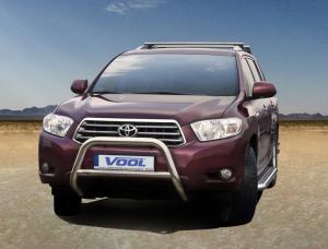 MINDRE frontbåge - Toyota Highlander 2008-2013