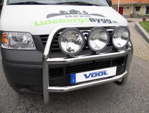 STOR TRIO frontbåge - VW T5 2003-2009