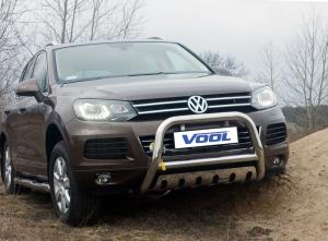 Frontbåge med hasplåt - VW Touareg 2011-2015