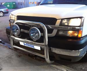 STOR 76MM frontbåge - Chevrolet Silverado 1998-2007