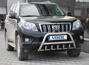 MINDRE frontbåge med trågskydd - Toyota Land Cruiser (150) 2010-