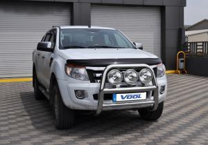 Vool Rostfri Frontbåge mod. Stor Trio Ford Ranger 2012-