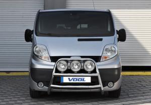 STOR TRIO frontbåge - Opel Vivaro 2002-2006