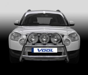 STOR TRIO frontbåge - Skoda Yeti 2010-2013